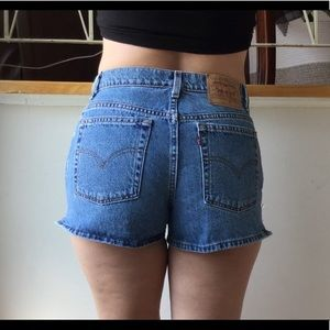 Vintage High Waist Levi Shorts